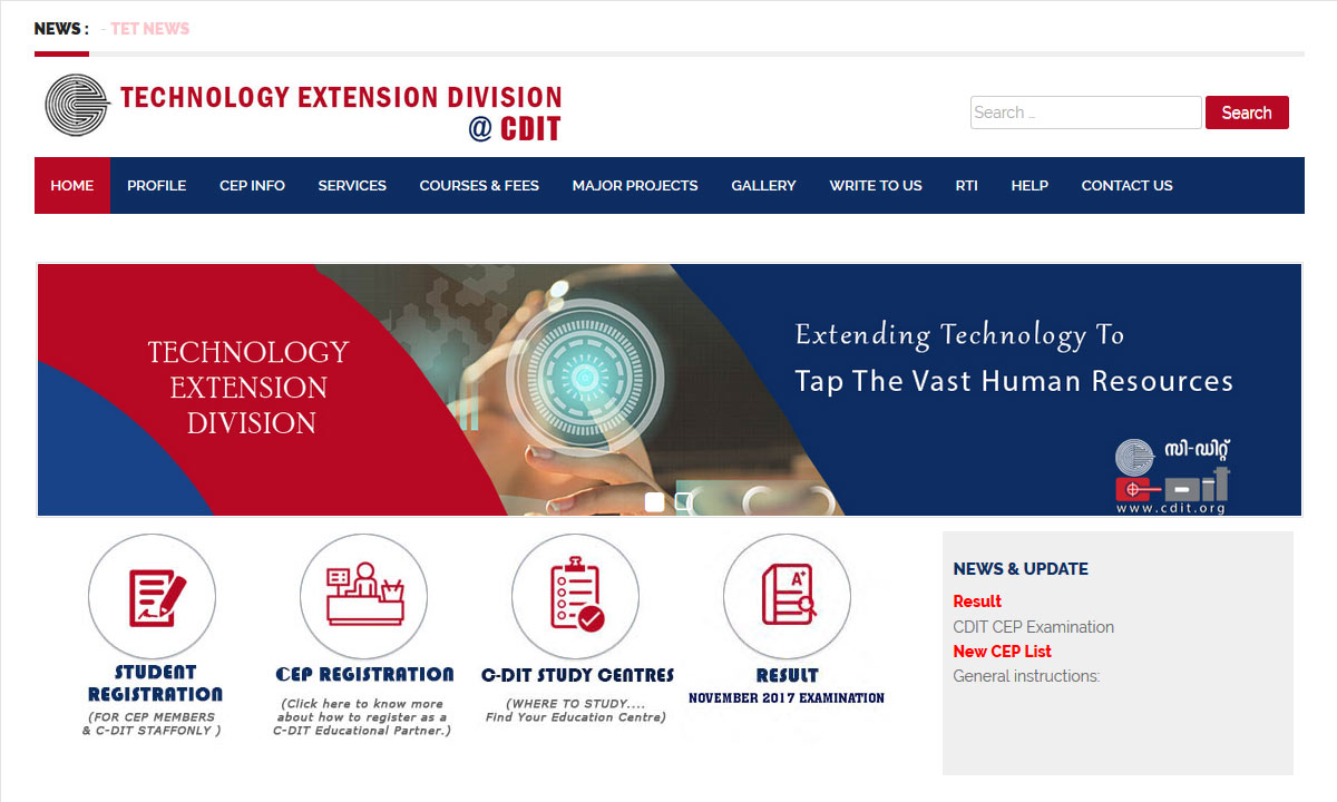 Technology Extension Division
